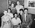 Dalip Singh Saund with family, Aneka Amerika 102 (1957), p15.jpg