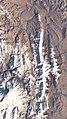 Damavand , Doberar ridge, Zarrinkuh ISS025-E-12265.jpg