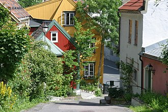 East End and West End of Oslo - Damstredet.