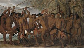 Dancing Tapuyi Indians
