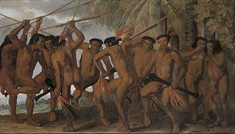 Albert Eckhout - Image: Dança dos Tapuias