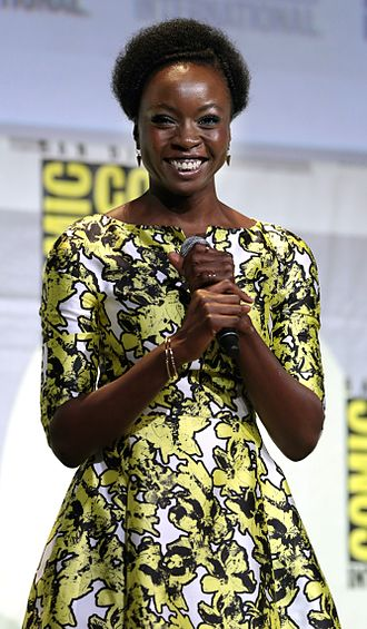 Danai Gurira - Gurira at the 2016 San Diego Comic-Con International