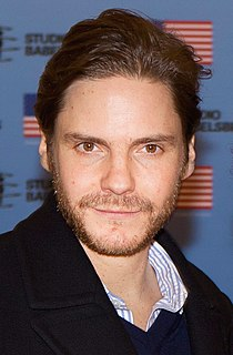 Daniel Brühl German actor