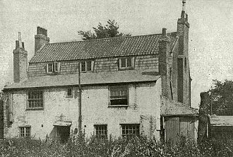 Daniel Defoe - A house where Defoe once lived, near London, England