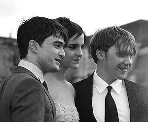 Daniel Radcliffe%2C Emma Watson %26 Rupert Grint