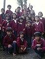 Darjeeling-32-Gruppe tibetischer Schueler-1976-gje.jpg