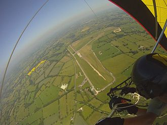 Airways Airsports - Darley Moor Airfield from above