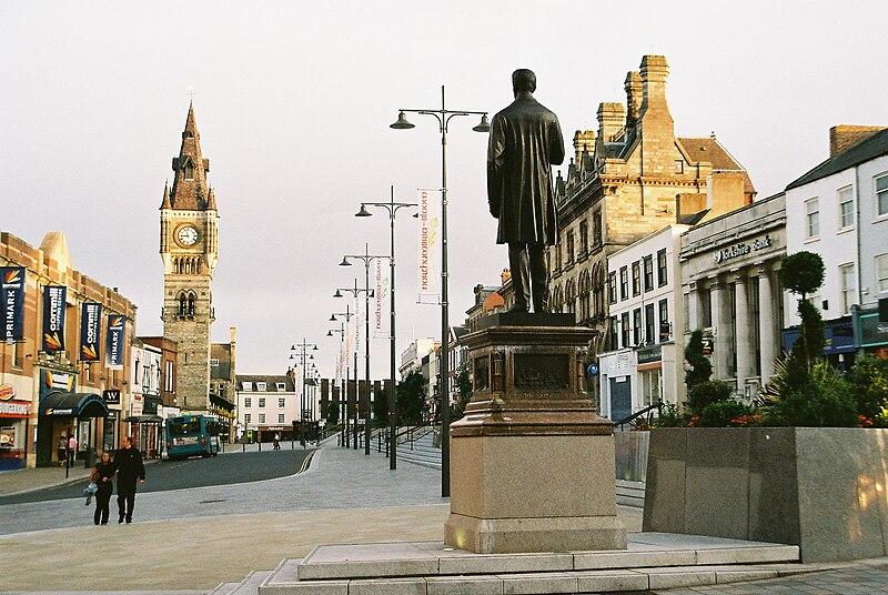 Darlington town centre