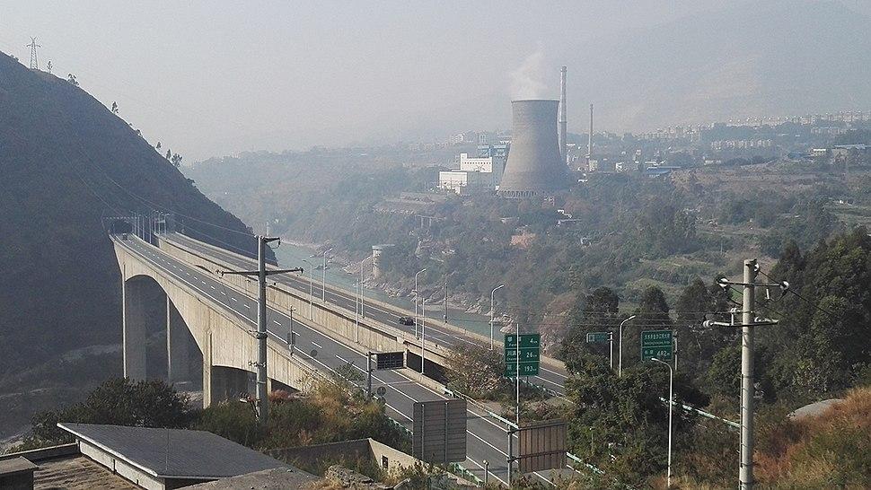 Dashuijing Bridge of Chengdu-Lijiang Expressway.jpg
