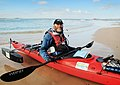 Dave Jacka completes his kayaking expedition down the Murray River.jpg