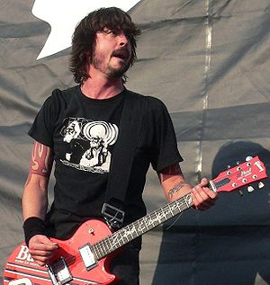 Probot - Dave Grohl played the majority of instruments on the album, including all of the drum tracks.