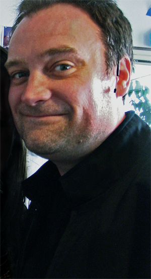 David Hewlett - Hewlett in the conference room at Bridge Studios, 2008