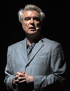 David Byrne Scottish-American musician and former frontman of Talking Heads