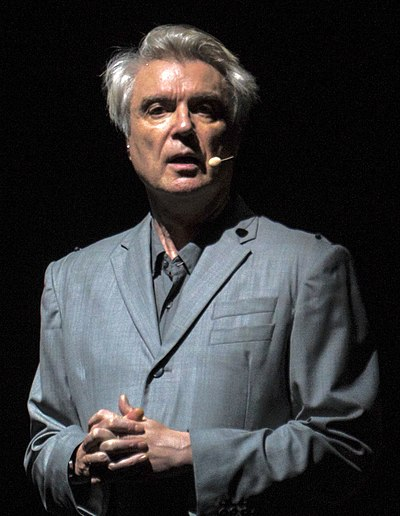 Picture of a band or musician: David Byrne
