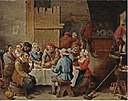 David Teniers (II) - Peasants eating and drinking in an interior.jpg