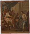David and Saul. Study (Sebastiano Conca) - Nationalmuseum - 17335.tif
