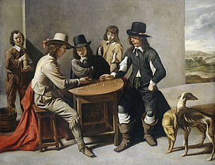 The dice-players