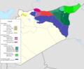 De facto cantons of Rojava1.png