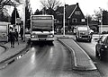 De nieuwe rotonde op het Adriaan Stoopplein. Aangekocht in 1998 van United Photos de Boer bv. - Negatiefnummer 45029 k 17. - Gepubliceerd in het Haarlems Dagblad dd 16-12-1997. Identificatienummer 54-.JPG