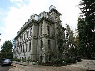 Deady Hall - Image: Deady Hall West