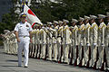 Defense.gov News Photo 110715-N-TT977-248 - Chairman of the Joint Chiefs of Staff Adm. Mike Mullen reviews Japanese Self Defense Force troops during a welcoming ceremony at the Ministry of.jpg
