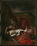 Delacroix - The Lamentation (Christ at the Tomb), 1848.jpg