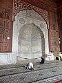 Delhi Freitagsmoschee - Mihrab groß 3.jpg