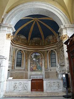 Della Rovere Chapel (Santa Maria del Popolo) first side chapel in the south aisle of the Basilica of Santa Maria del Popolo in Rome
