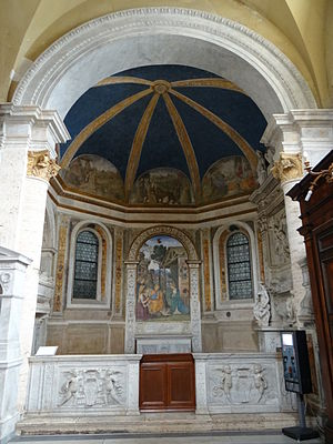 Della Rovere Chapel (Santa Maria del Popolo) - View of the chapel