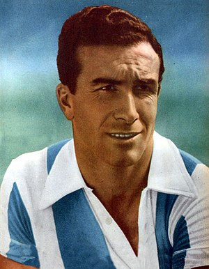 Pedro Dellacha - Dellacha in 1952 when playing for Racing Club