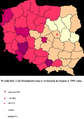 Democratic Union results in the Polish parliamentary election, 1991.PNG
