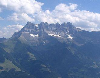 Val-d'Illiez - Dent du Midi peaks