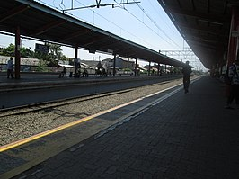 Depok railway station