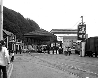 Manx Electric Railway - Derby Castle Terminus, 1972