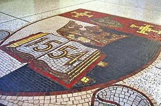 Derby School - Derby School Mosaic in Entrance Hall