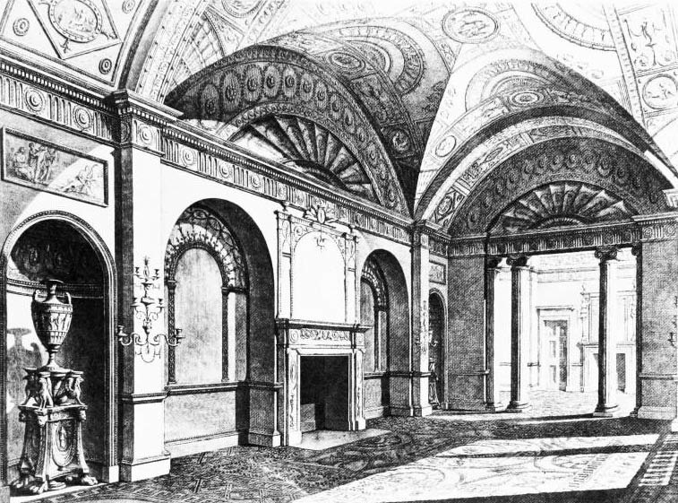 Dercy House drawing-room1777
