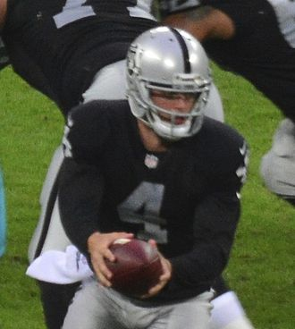 Derek Carr - Carr with the Oakland Raiders in 2014