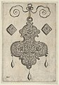 Design for the Verso of a Pendant with Three Large Flowers MET DP837434.jpg