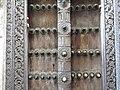 Detail of Carved Wooden Door - Stone Town - Zanzibar - Tanzania (8841700340).jpg