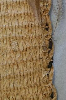 Muka prepared fibre of New Zealand flax