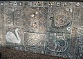 Detail of pebble mosaic, off Post Office Road, Alrewas - geograph.org.uk - 1595280.jpg
