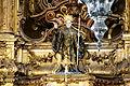 Detalhe da imagem de São Bento no altar-mor da Igreja de São Bento em Olinda.JPG