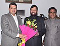 Devendra Fadnavis calling on the Union Minister for Consumer Affairs, Food and Public Distribution, Shri Ram Vilas Paswan, , in New Delhi. The Minister of State for Consumer Affairs, Food and Public Distribution.jpg