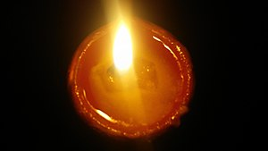 Arya Samaj - Diya with one wick.
