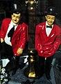 Dick und Doof - Laurel und Hardy - Dekofiguren - panoramio.jpg