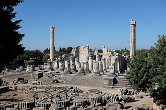 Didyma - The ruins of the Temple of Apollo at Didyma