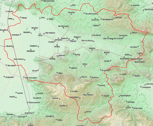 Farsala - Farsala municipality map