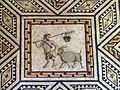 Dionysus mosaic (detail), from around A.D. 220 230, Romisch-Germanisches Museum, Cologne (8115575868).jpg