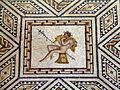 Dionysus mosaic (detail), from around A.D. 220 230, Romisch-Germanisches Museum, Cologne (8115577880).jpg