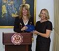 Director Andrea Bottner of the U.S. Department of State with Professor Ruth Halperin-Kaddari.jpg